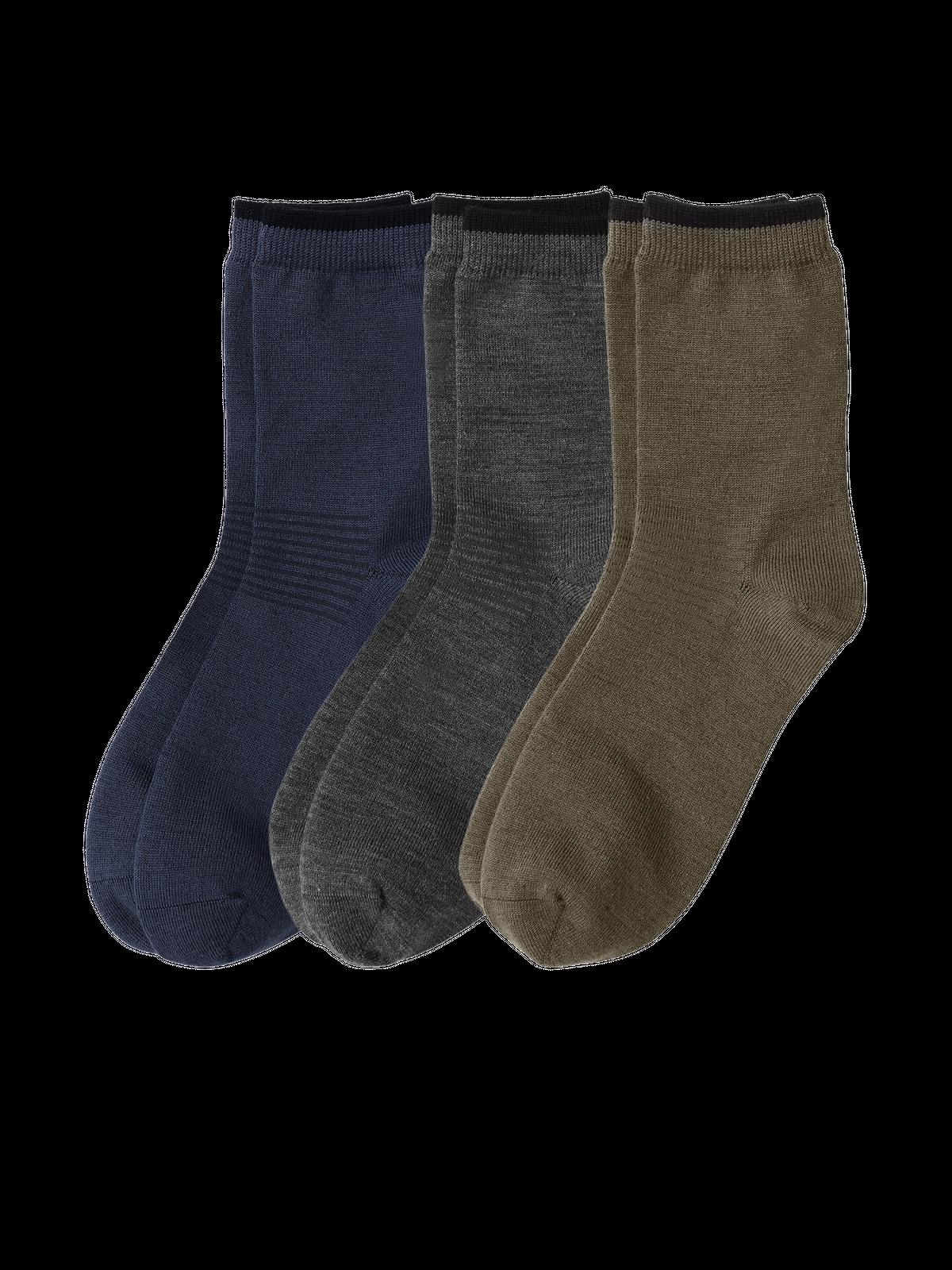 Wool Sock Everyday Blå/Grå/Grön