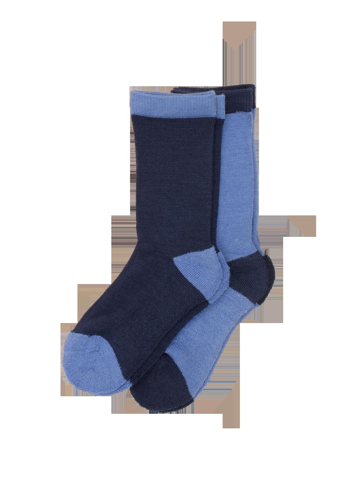 Wool Sock Kids  Blå
