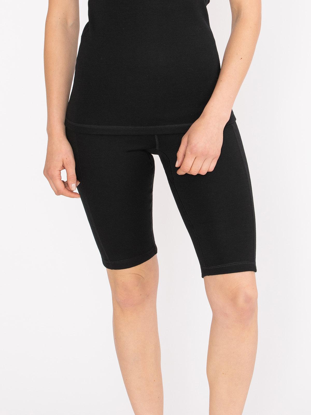 Merino Super Soft Short Pant Women Svart