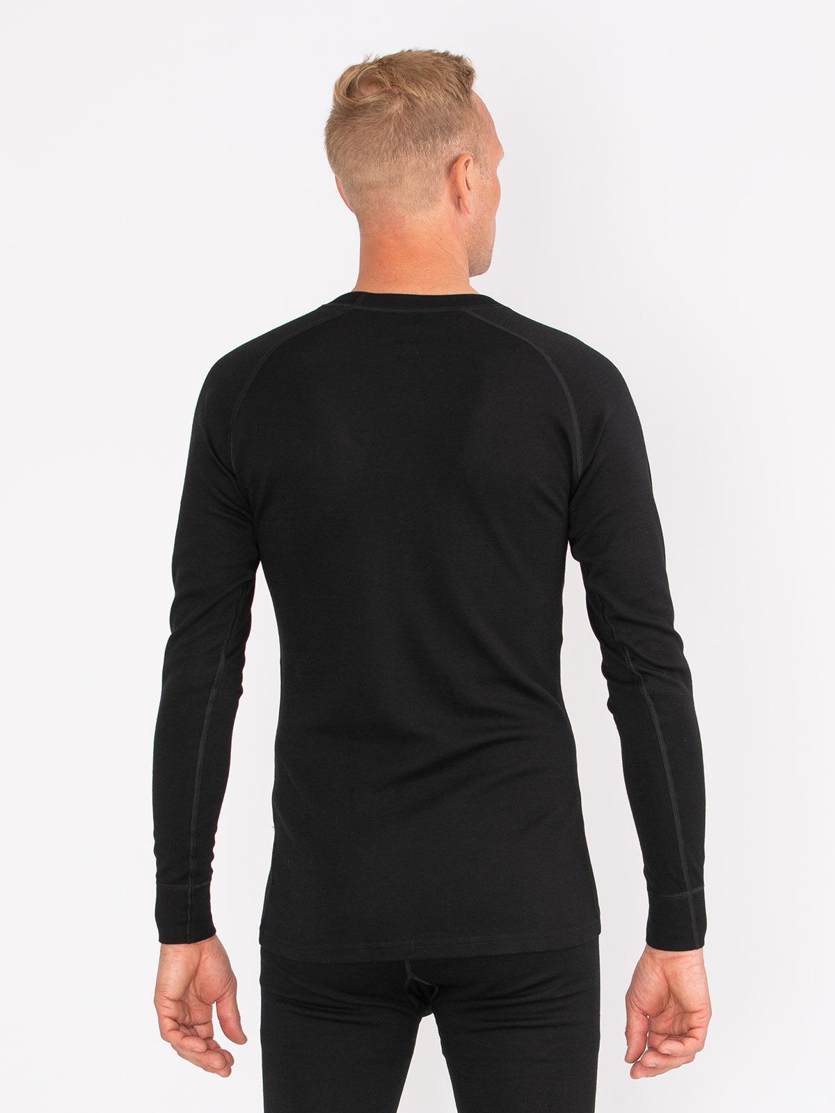 Merino Super Soft Sweater Men Svart