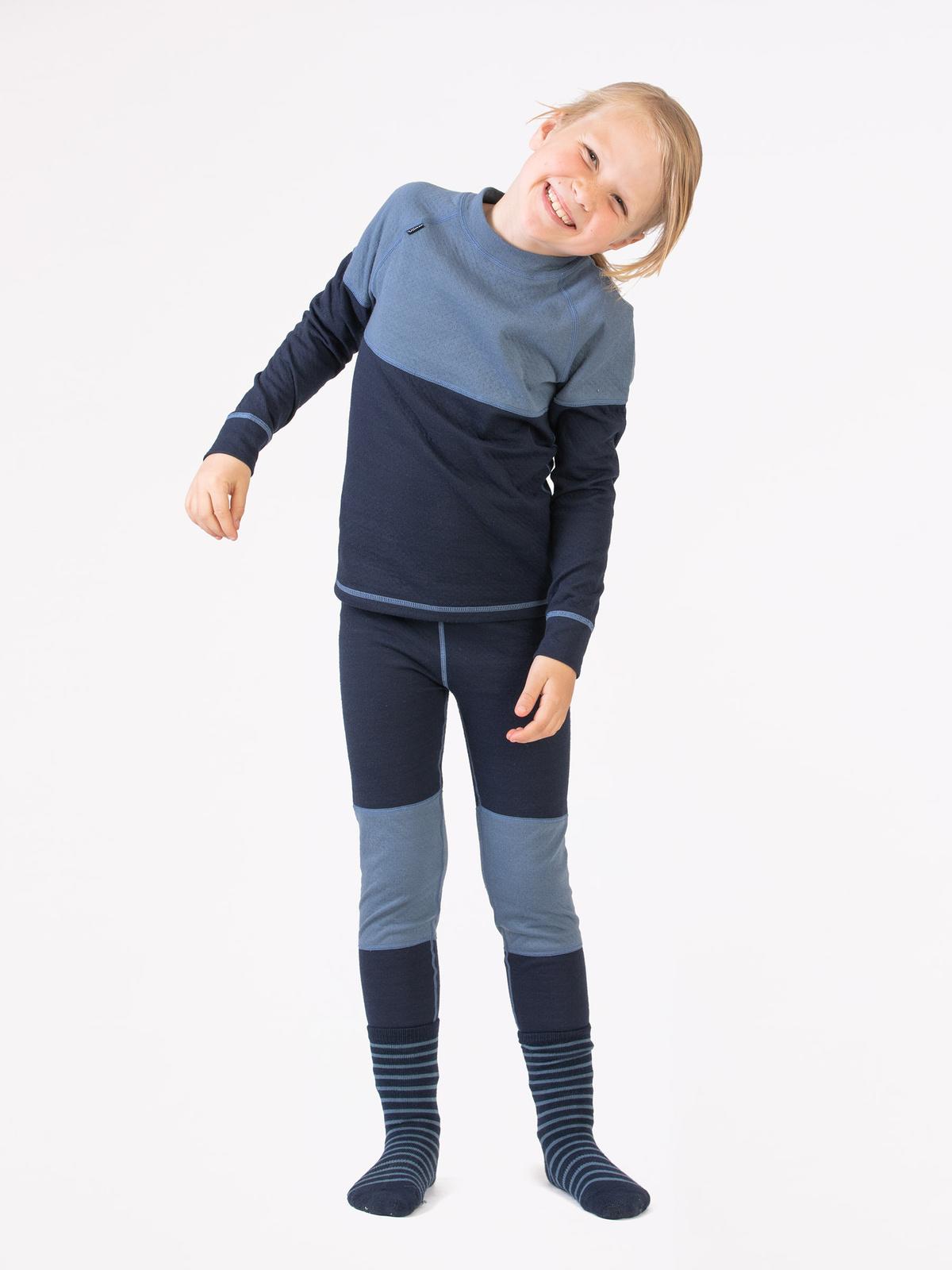 Merino Soft Set Kids Blå