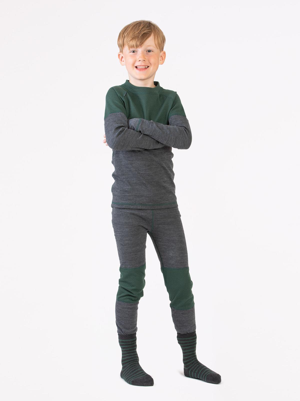 Merino Soft Set Kids Grön