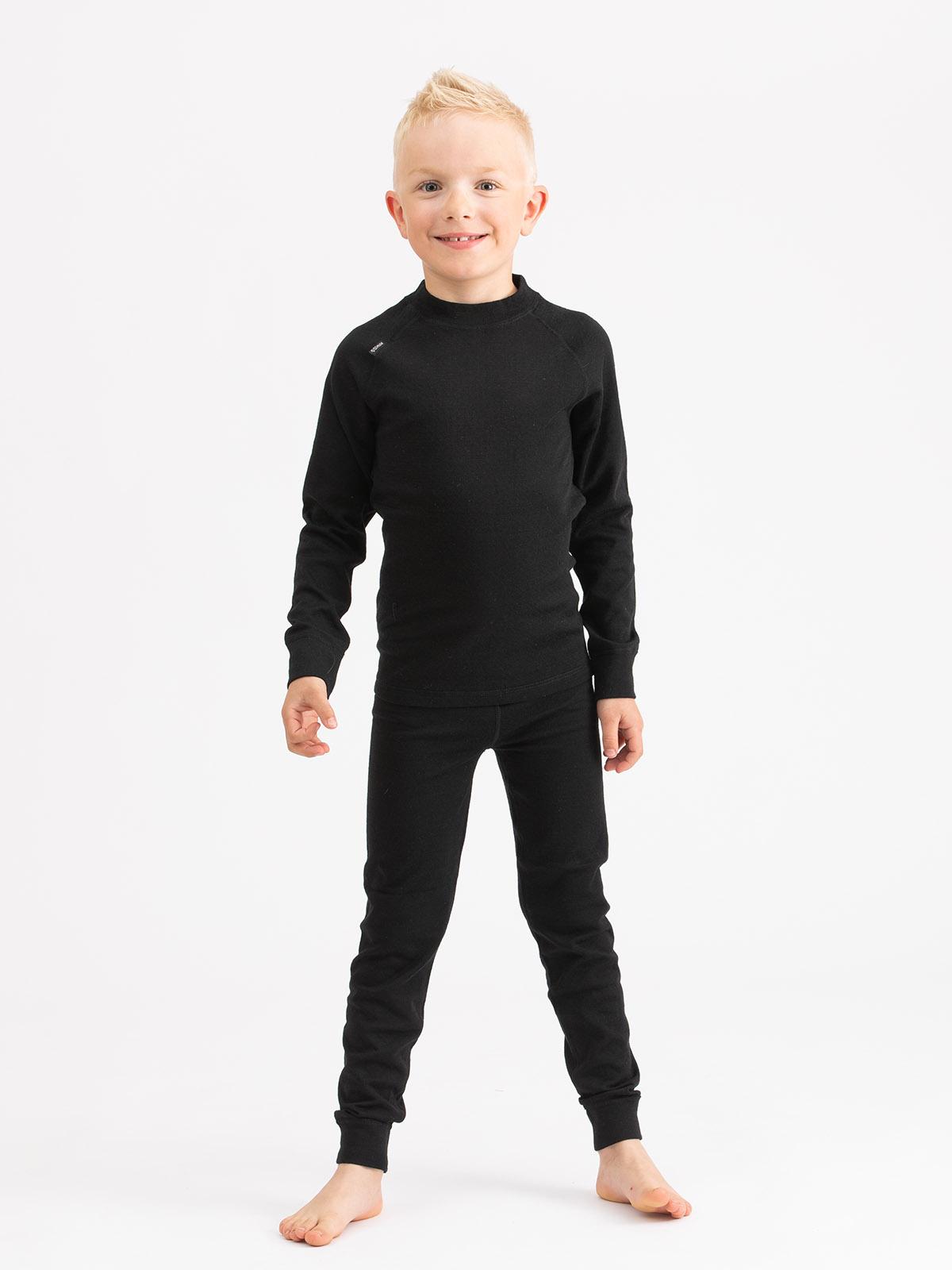 Merino Soft Set Kids Svart