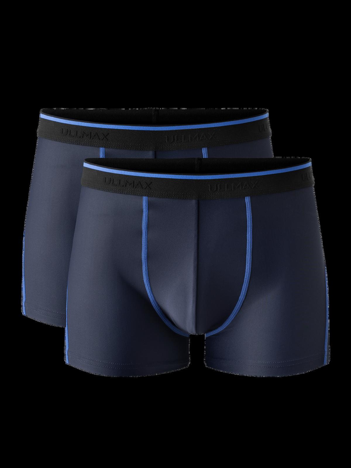 Functional Boxer Men 2-p Mörkblå
