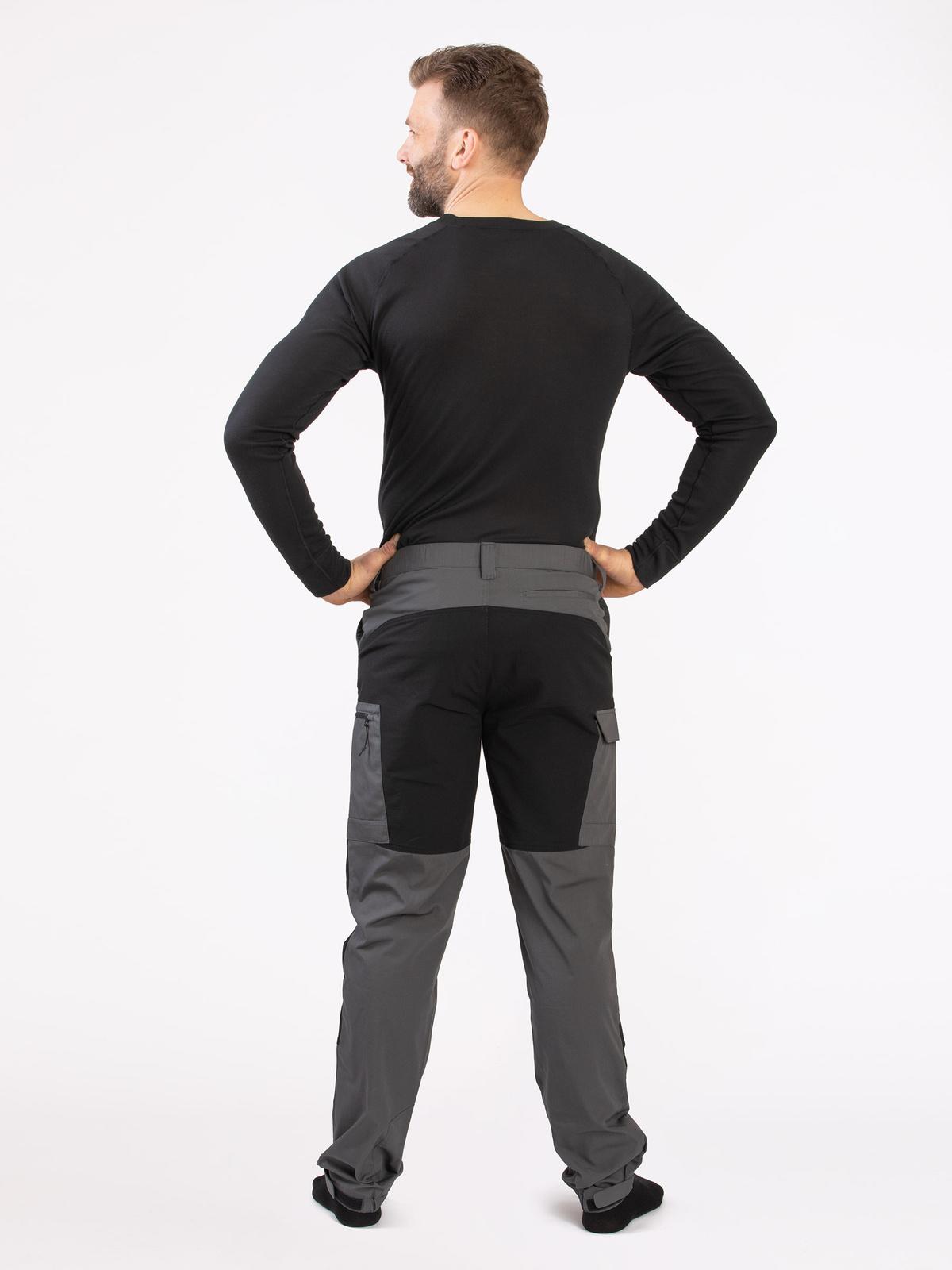 Outdoor Pants Men Grå