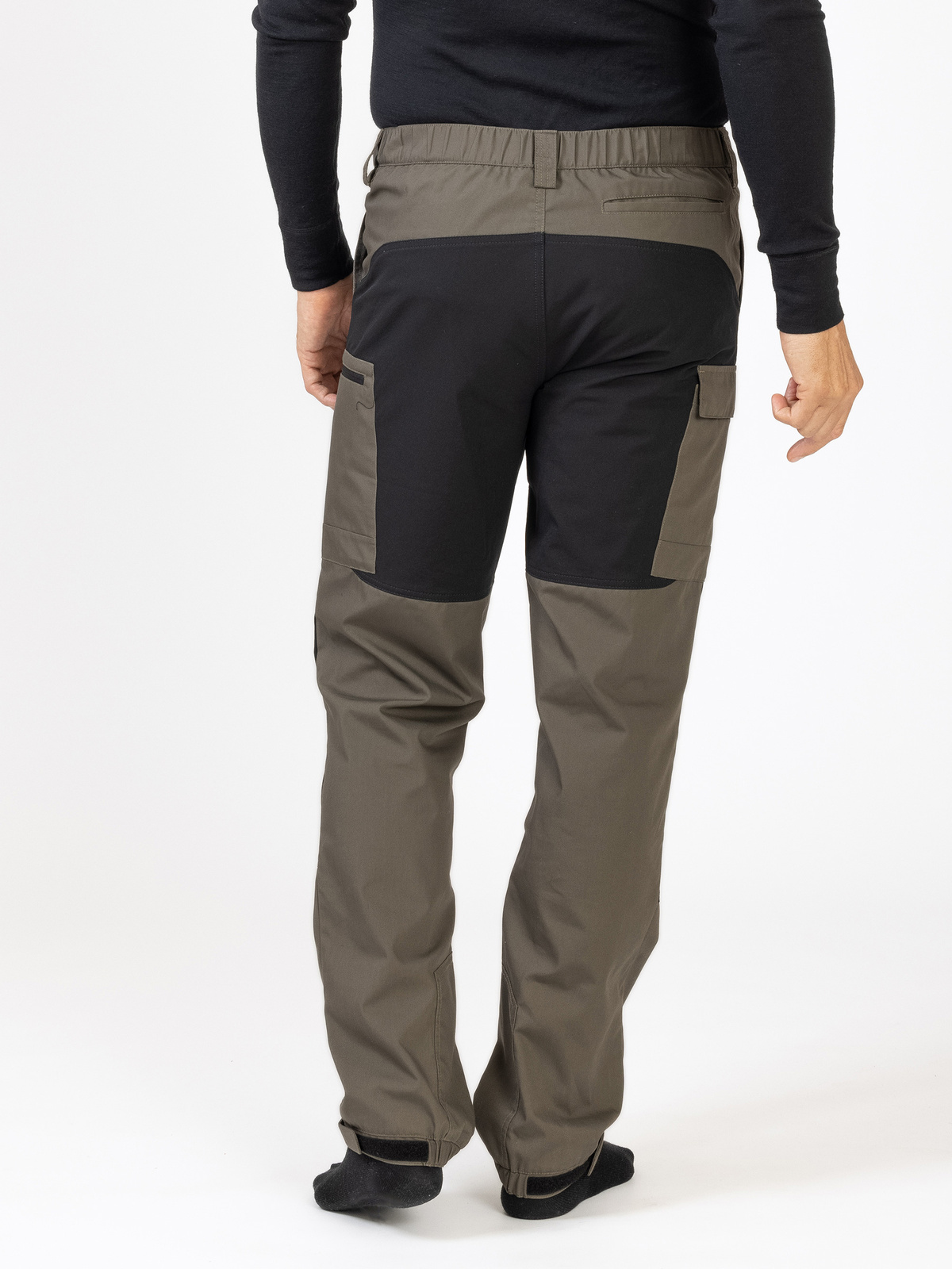 Outdoor Pants Men khakivihreä