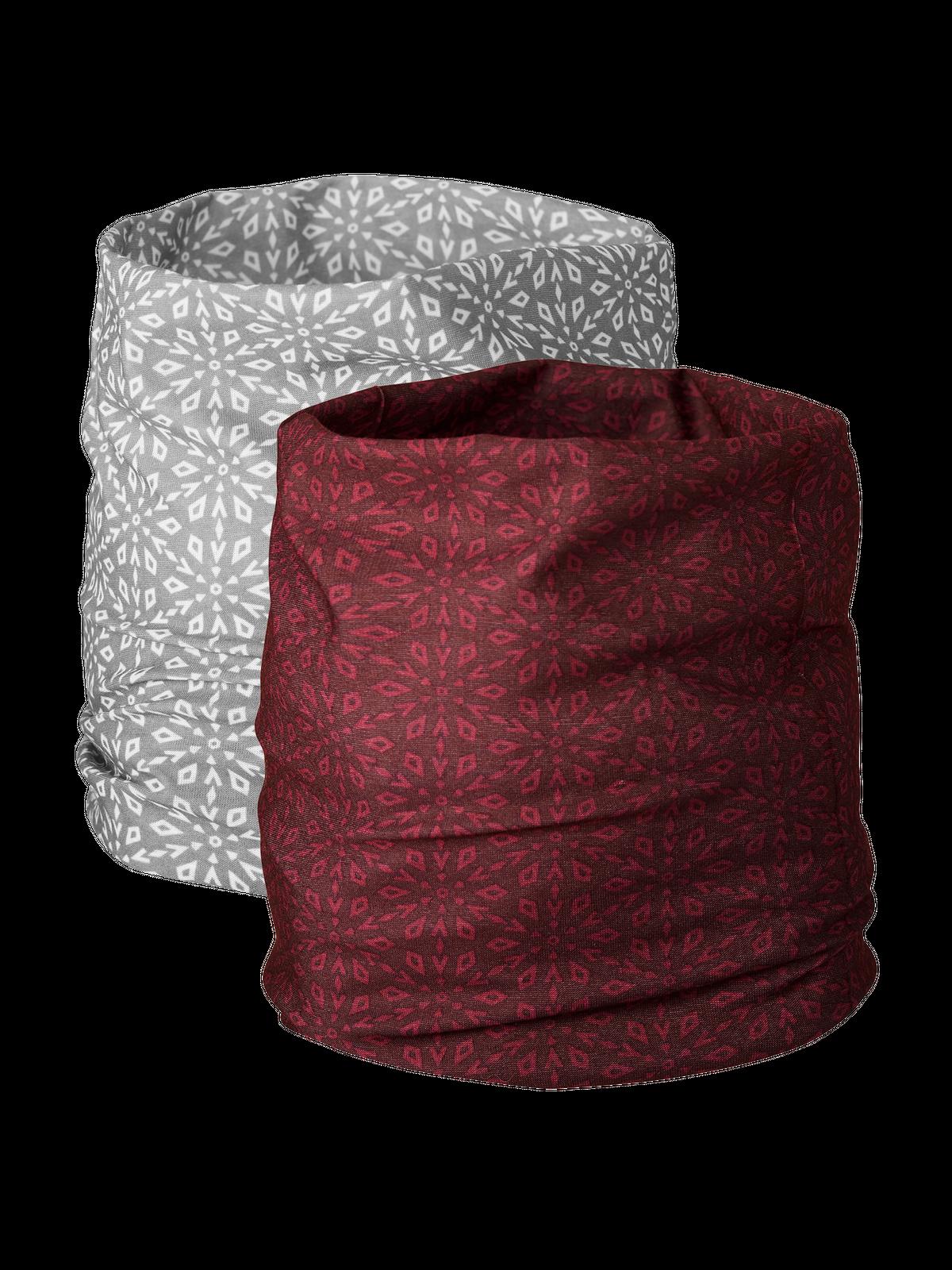 Multi Headwear 2-p Rosa/Grå