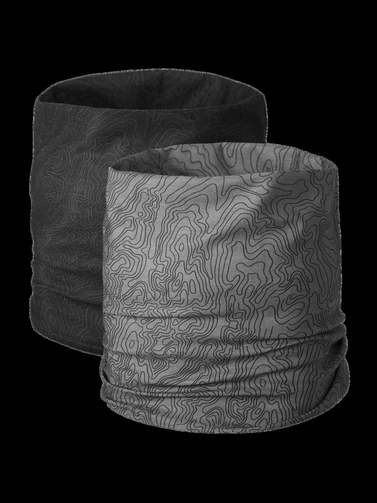 Multi Headwear 2-p Musta/Harmaa