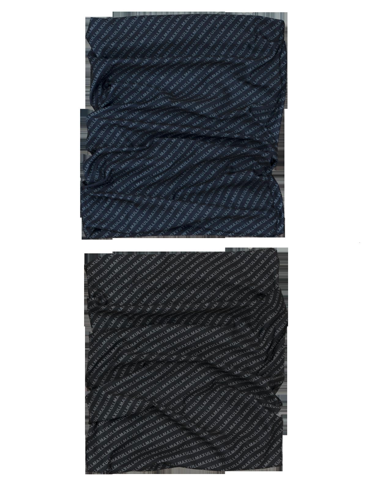 Multi Headwear Logo 2-p  Mørkeblå/Svart